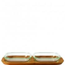 Buy the Leonardo Gusto Platter Set 3pc online at smithsofloughton.com