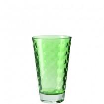 Buy the Leonardo Optic Tumbler Green 300ml Glasses online at smithsofloughton.com