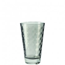 Buy the Leonardo Optic Tumbler Grey 300ml Glasses online at smithsofloughton.com