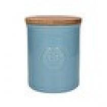 Buy the Light Blue Kew Gardens Richmond Embossed Logo Storage Jar online at smithsofloughton.com