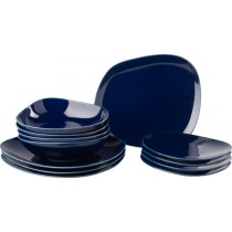 Buy the Like - Villeroy and Boch Organic Dark Blue Plate and Bowl Set online at smithsofloughton.com