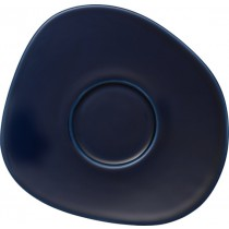 Buy the Like - Villeroy and Boch Organic dark Blue Saucer online at smithsofloughton.com