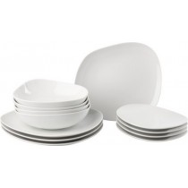 Buy the Like - Villeroy and Boch Organic White Plate Bowl Set online at smithsofloughton.com