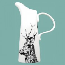 Buy the Little Weaver Arts Extra Lage Stag Jug 25cm online at smithsofloughton.com