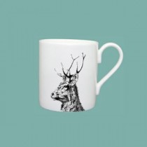 Buy the Little Weaver Arts Imperial Stag Set of 2 Mugs online at smithsofloughton.com