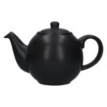 Buy the London Pottery 2 Cup Matt Black Globe Teapot online at smithsofloughton.com