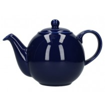 Buy the London Pottery 4 Cup Blue GlobeTeapot online at smithsofloughton.com