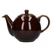 Buy the London Pottery 6 Cup Black GlobeTeapot online at smithsofloughton.com
