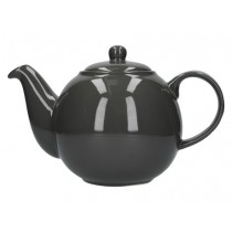 Buy the London Pottery 6 Cup Grey GlobeTeapot online at smithsofloughton.com