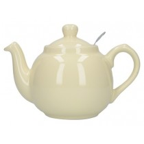 Buy the London Pottery 6 Cup Ivory GlobeTeapot online at smithsofloughton.com