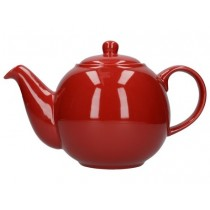 Buy the London Pottery 6 Cup Red GlobeTeapot online at smithsofloughton.com