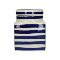 Buy the London Pottery Ceramic Canister Blue Bands online at smithsofloughton.com