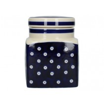 Buy the London Pottery Company Ceramic Canister Blue and White Circle online at smithsofloughton.com
