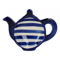 Buy the London Pottery Company Tea Bag Tidy Blue Bands online at smithsofloughton.com