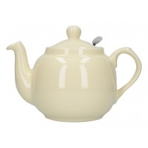 Buy the London Pottery Farmhouse Filter 4 Cup Ivory Teapot online at smithsofloughton.com