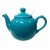 Buy the London Pottery Farmhouse Filter 6 cup Teapot Aque online at smithsofloughton.com