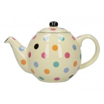 Buy the London Pottery Globe 2 Cup Teapot Multi Spot online at smithsofloughton.com