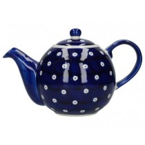 Buy the London Pottery Globe 4 Cup Teapot Blue Circle online at smithsofloughton.com