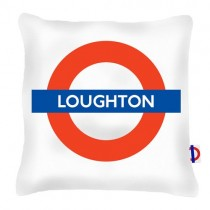 Buy the Loughton Tube Station Cushions 45cm online at smithsofloughton.com