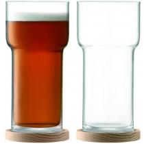 Buy the LSA Beer Glasses online at smithsofloughton.com