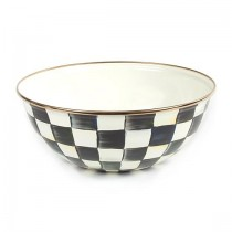 Buy the MacKenzie-Childs Courtly Check Bowl Medium online at smithofloughton.com