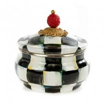 Buy the MacKenzie-Childs Courtly Check Sugar Pot online at smithsofloughton.com