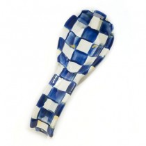 Buy the MacKenzie-Childs Royal Check Enamel Spoon Rest online at smithsofloughton.com