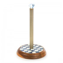 Buy the MacKenzie-Childs Royal Check Paper Towel Holder online at smithsofloughton.com