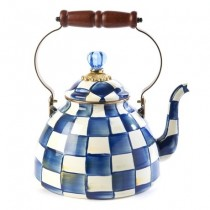 Buy the MacKenzie-Childs Royal Check Tea Kettle online at smithsofloughton.com