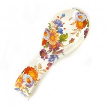 Buy the MacKenzie-Childs White Flower Enamel Spoon Rest online at smithsofloughton.com