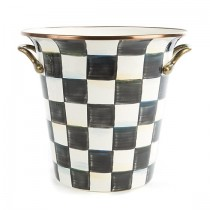 Buy the MacKenzie Childs Courtly Check Enamel Wine Cooler online at smithsofloughton.com