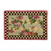 Buy the MacKenzie Childs Morning Glory Welcome Entrance Door Mat online at smithsoflougghton.com