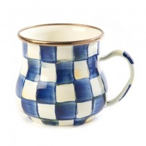 Buy the MacKenzie Childs Royal Check Mug online at smithsofloughton.com