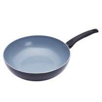 Buy the Master Class Ceramic Non-Stick Induction Ready 30cm Wok online at smithsofloughton.com