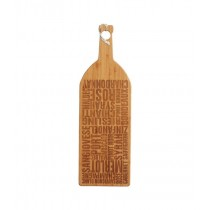 Buy the Master Class Gourmet Prep & Serve Wine Bottle Bamboo Board online at smithsofloughton.com