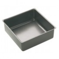 Buy the Master Class Square Non-Stick 23cm Loose Base Deep Cake Pan online at smithsofloughton.com