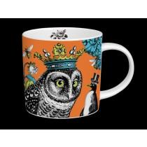 Buy the Menagerie Hoot Mug in Orange online at smithsofloughton.com