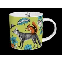 Buy the Menagerie Mr Fox Mug in Green online at smithsofloughton.com