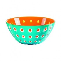 Buy the orange Guzzini Le Murrine Bowl 25cm online at smithsofloughton.com