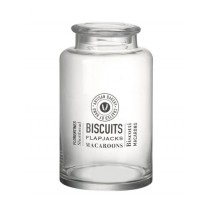 Parlane International Biscuits Jar Glass Clear 300mm