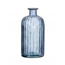 Buy the Parlane International Bottle Solo Blue Glass Vase online at smithsofloughton.com
