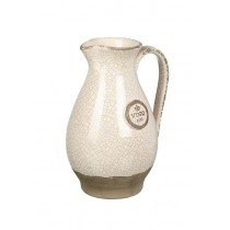 Buy the Parlane International Pitcher Vino Crackle Ivory online at smithsofloughton.com