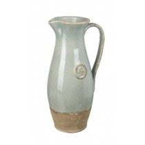 Buy the Parlane International Pitcher Vino Crackle Pale Green online at smithsofloughton.com
