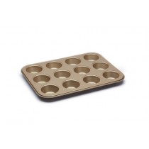 Buy the Paul Hollywood Non-Stick Twelve Hole Shallow Baking Tin online at smithsofloughton.com