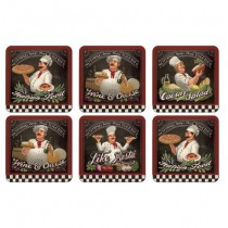 Buy the Pimpernel Chef's Specials Coasters online at smithsofloughton.com
