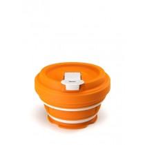 Buy the Pokito Reusable Concertina Travel Cup Pumpkin online at smithsofloughton.com
