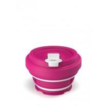 Buy the Pokito Reusable Concertina Travel Cup Raspberry online at smithsofloughton.com