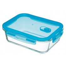 Buy the Pure Seal Glass Rectangular 1.5 Litres Storage Container online at smithsofloughton.com