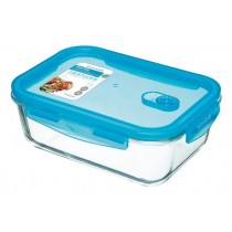 Buy the Pure Seal Glass Rectangular 1.8 Litres Storage Container online at smithsofloughton.com
