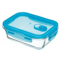 Buy the Pure Seal Glass Rectangular 1 Litre Storage Container online at smithsofloughton.com